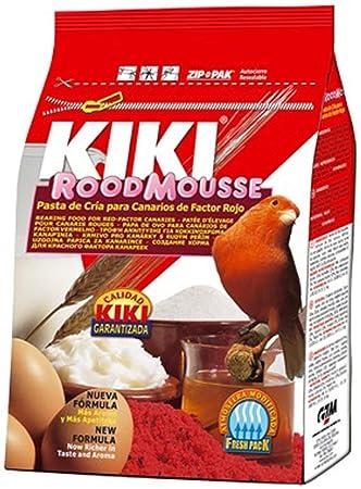 Kiki Pasta de cría Roja Rood Mousse Morbida - Bolsa 1 kg: Amazon.es: Jardín