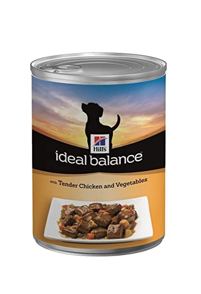 Hills Ideal Balance Tender Chicken And Vegetables Recipe Dog Food