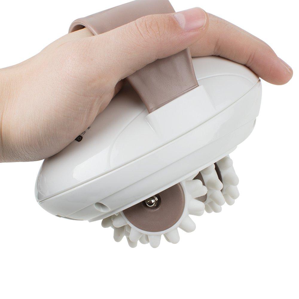 Careshine Handle-held Massager, 3D Rotating Electronic Anti-Cellulite Full Body Slimming Massage