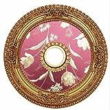 Elegant Lighting Medallion, French Gold, 24 by 24 by 24 by Elegant Lighting