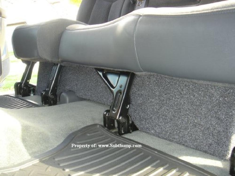 "2001-2007 Chevy Silverado 2500Hd Crew Cab Dual 12/"" Stereo Subwoofer Sub Box New"