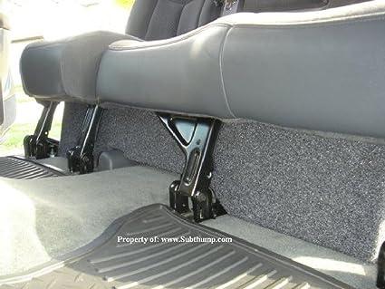 2000 chevy silverado regular cab speaker size
