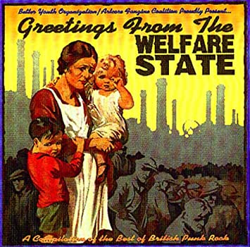 Various artists various greetings from the welfare state a greetings from the welfare state a compilation of the best of british punk rock m4hsunfo