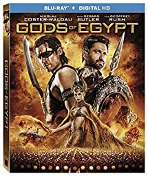 Gods Of Egypt [Bluray + Digital HD] [Blu-ray]