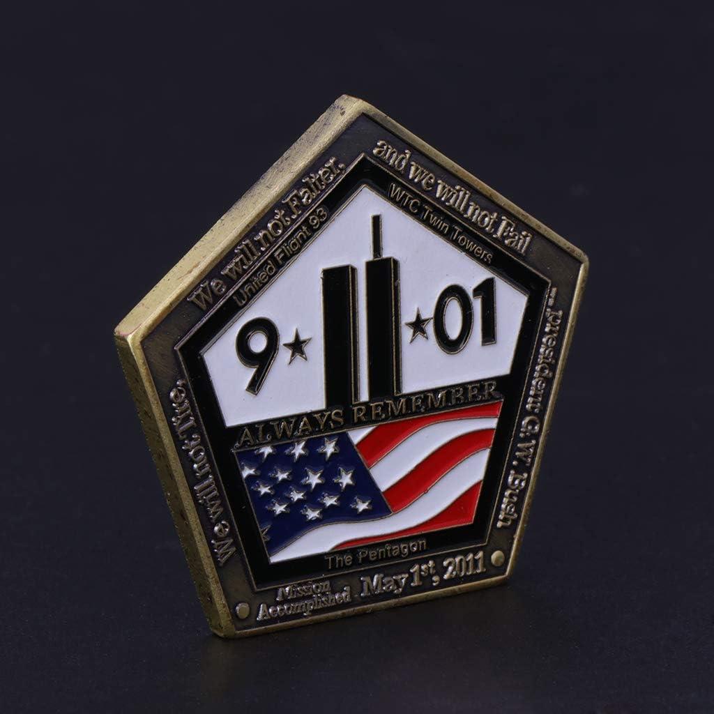 Cadeau danniversaire Choix pour Vos Amis comme No/ël Yiyilam Pi/èce comm/émorative Accident du 911 am/éricain Collection de Cadeaux dart du Pentagone Collection Souvenirs Nouvel an