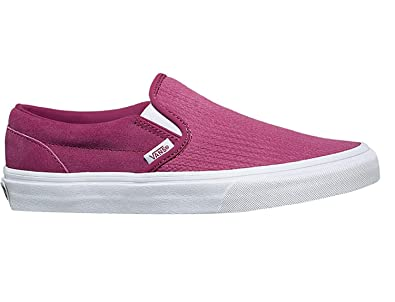 Image Unavailable. Image not available for. Color  Vans Slip On Classic  Suede Mens Skateboarding-Shoes VN-0A38F7U7Q 7 - Rose Emboss e70ef95a6