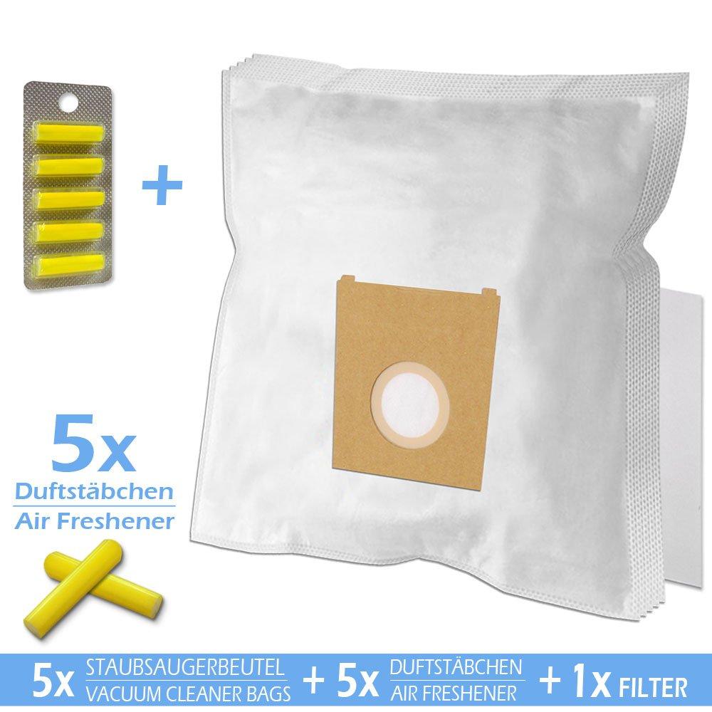Set - Ambientadores + Filtro + 5 Bolsas de aspiradora para Bosch ...