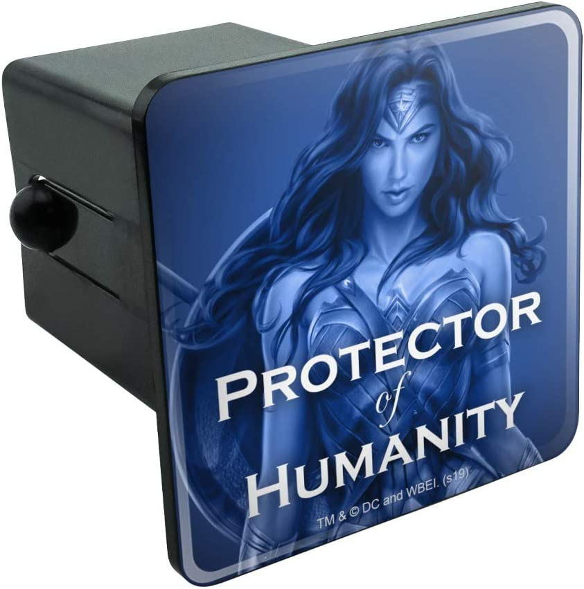 Graphics and More Wonder Woman Movie Protector of Humanity Tow Trailer Hitch Cover Plug Insert