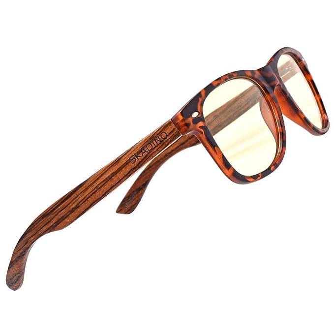 Amazon.com: Skadino SD6010 - Gafas de sol de bambú con ...