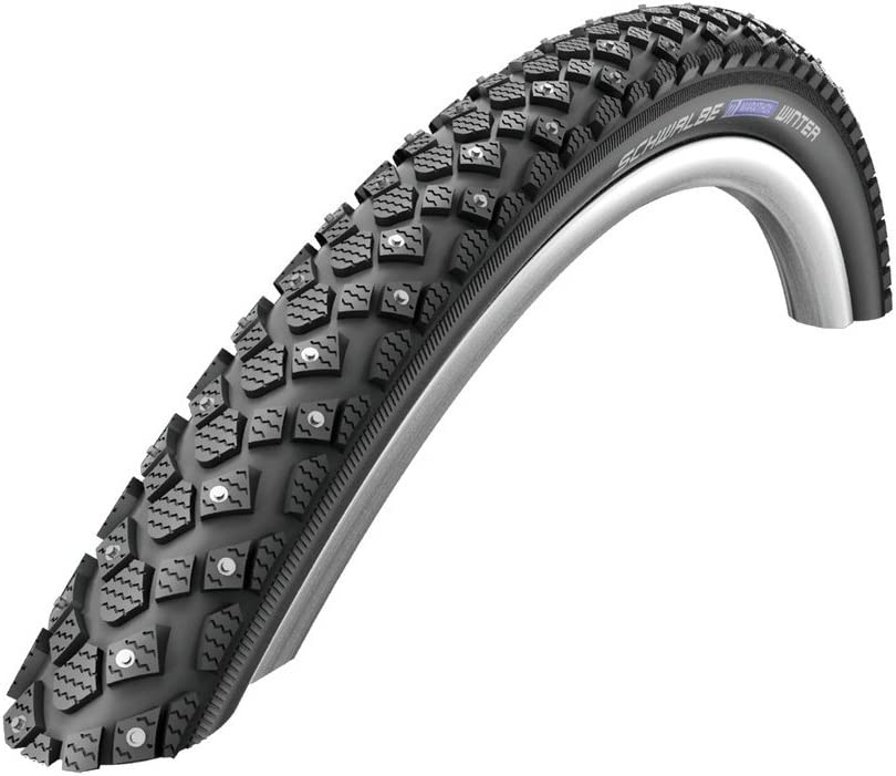 Schwalbe Marathon Winter Plus HS 396 Studded Mountain Bicycle Tire – Wire Bead