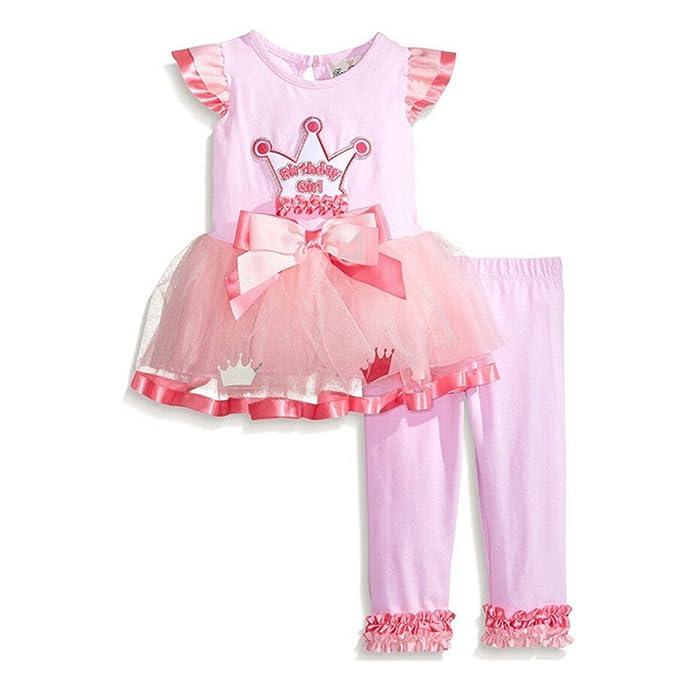 Hever - Blusa - para niña rosa rosa 120 cm