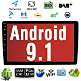 Binize 10 Inch Touch Screen Double Din Android Car Multimedia Radio,GPS Navigation Receiver,Support WIF,Bluetooth,Dual…