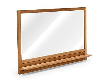 Massivum Spiegel Del Mare Ablage Teak Holz natur 10 x 140 x 80 cm