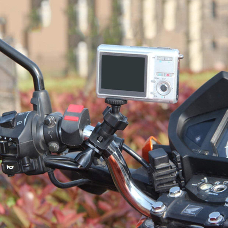 YUIO per fotocamera e videocamera colore: Nero Supporto treppiede per manubrio della bicicletta