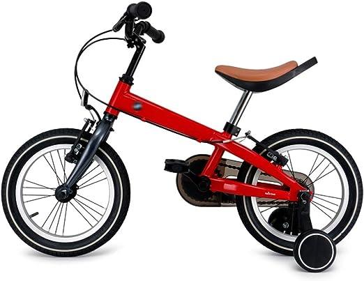Bicicletas niños niños Pedales para niños y niñas de 14 Pulgadas ...