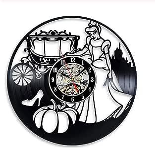 TTZSE Reloj de Pared de Vinilo Pegatinas Decoración para