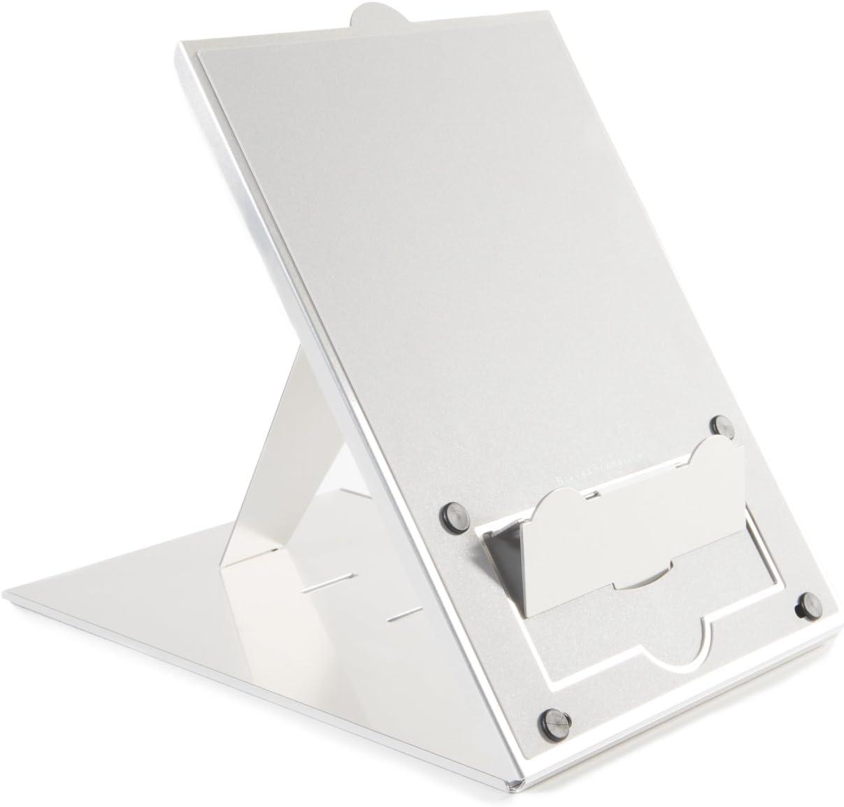 Bakker Elkhuizen BNEQH Tablet and Notebook Stand Ergo-Q Hybrid 4 Levels Adjustable Silver