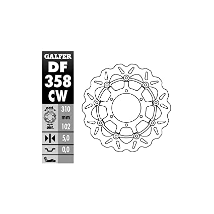 Amazon Com 08 18 Suzuki Gsxr600 Galfer Floating Wave Brake Rotor