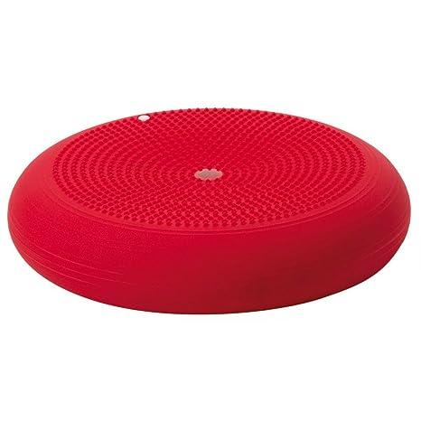 Balancekissen mit Noppenseite 60 cm Durchmesser blau Cando/® Balance Disc aufpumpbar Sitzkissen