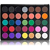Morphe Pro 35 Color Eyeshadow Makeup Palette - Multi Color Matte 35C