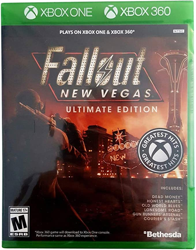 Fallout New Vegas Ultimate Edition - Xbox One and Xbox 360: Amazon.es: Videojuegos