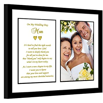 wedding thank you gift for mother of the bride or groom poem for mom in - Mother Of The Bride Picture Frame