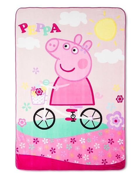 Coperta Peppa Pig.Peppa Pig Coperta Super Morbido Peluche Peppa Pig Coperta