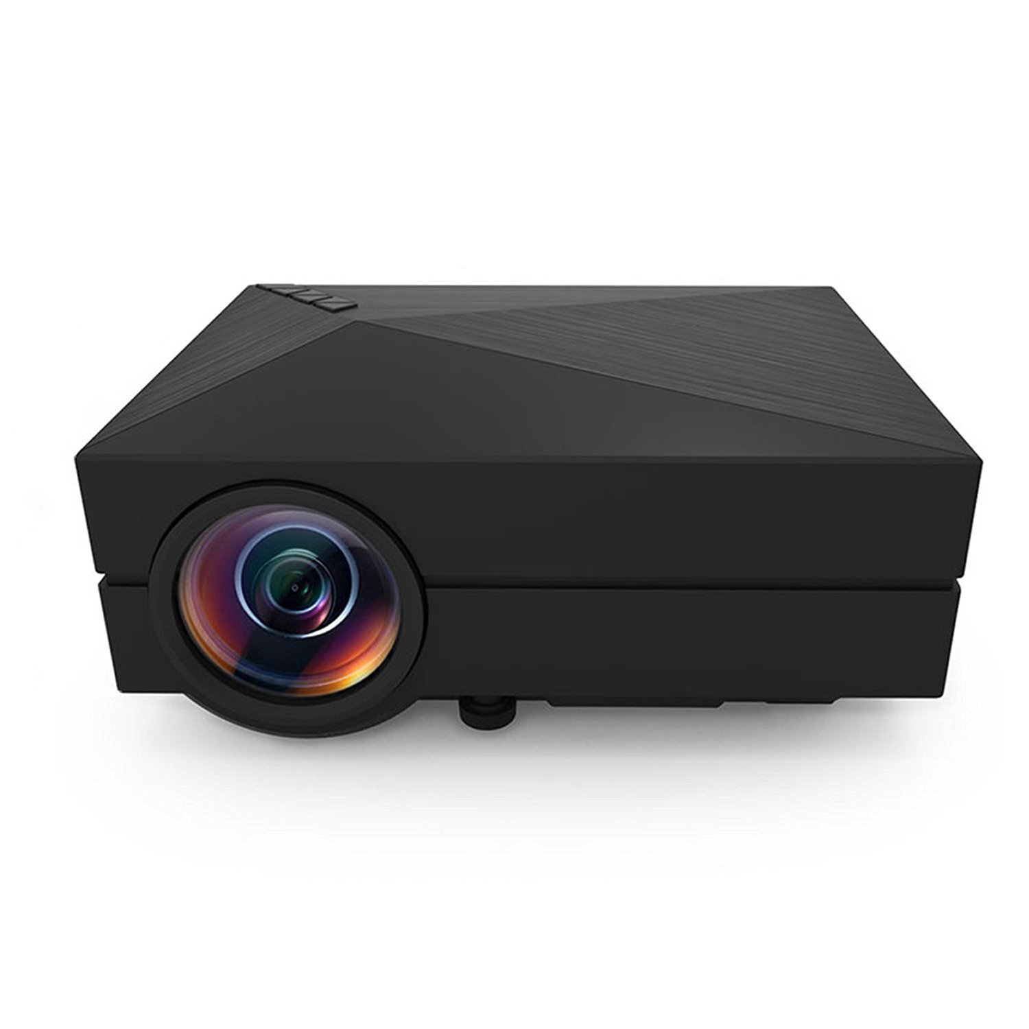 Amazon.com: BESTRUNNER LCD LED Projector Full Color Max 130\'\' Mini ...