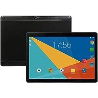 MeterMall 10 Pulgadas Tablet Android 8.0 6+64GB Tablet PC con Ranura para Tarjeta TF y cámara Dual, Negro