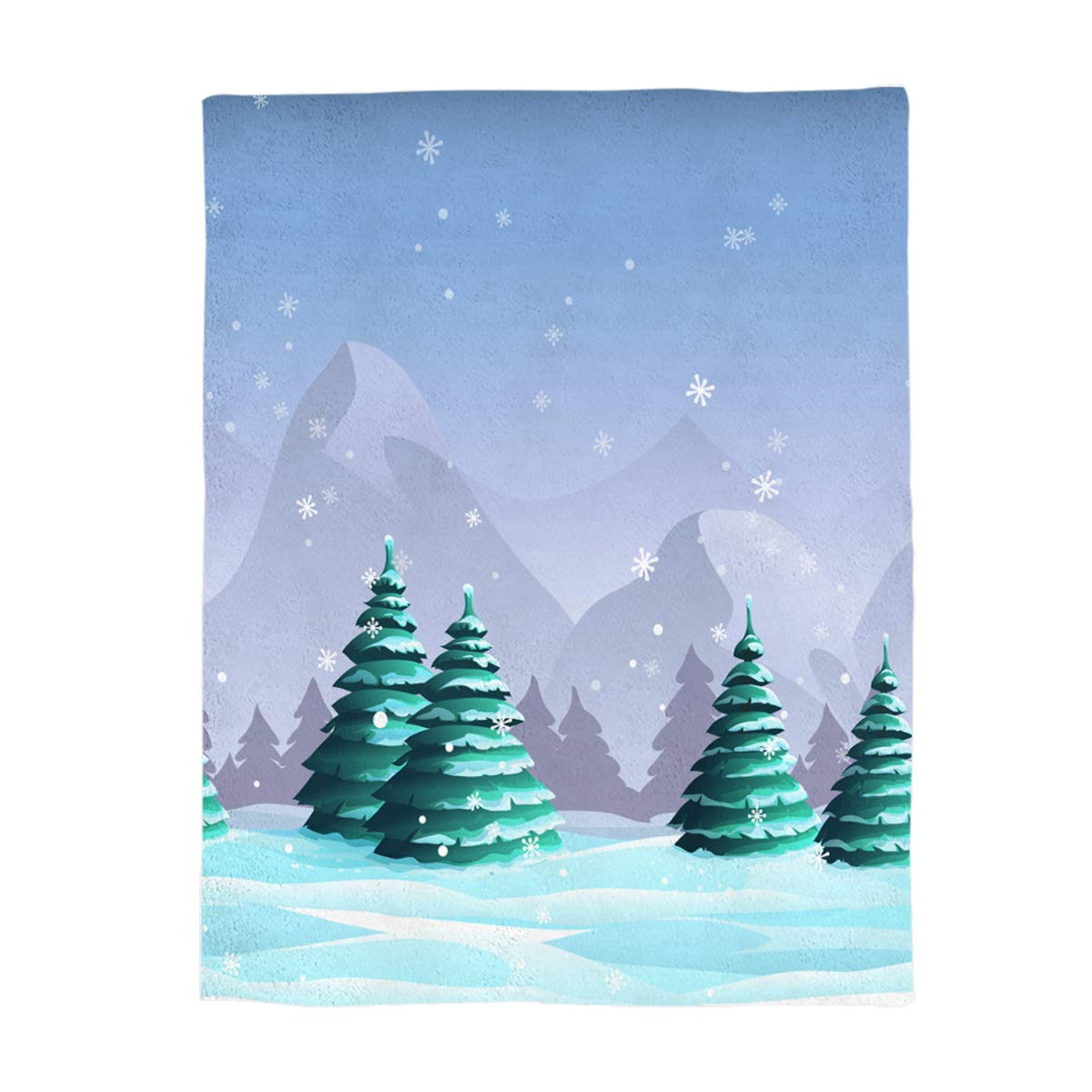 Christmas Treegry2335 Full Size 50 x60  Greday Christmas Throw Blankets for Adults Kids Comfort Luxuriously Soft Throw Blanket AllSeasons Couch Blanket or Bed Throw,Full Size 50 x60