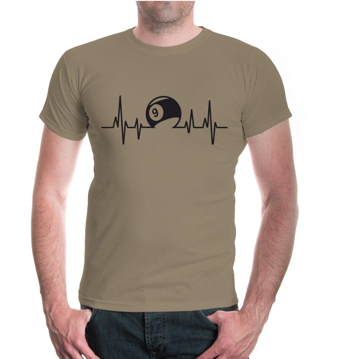 buXsbaum® T-Shirt Frequenz-Billard