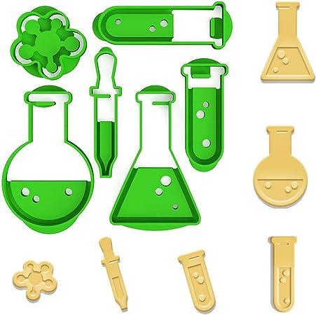Chemistry para galletas Química, laboratorio Juego: Amazon.es: Hogar