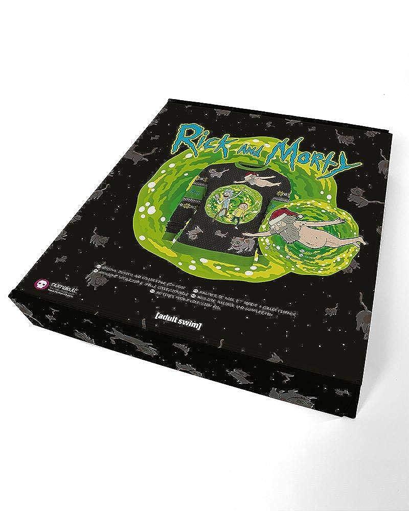 RICK AND MORTY Jersey De Navidad Portal Unisexo: Amazon.es: Ropa y accesorios