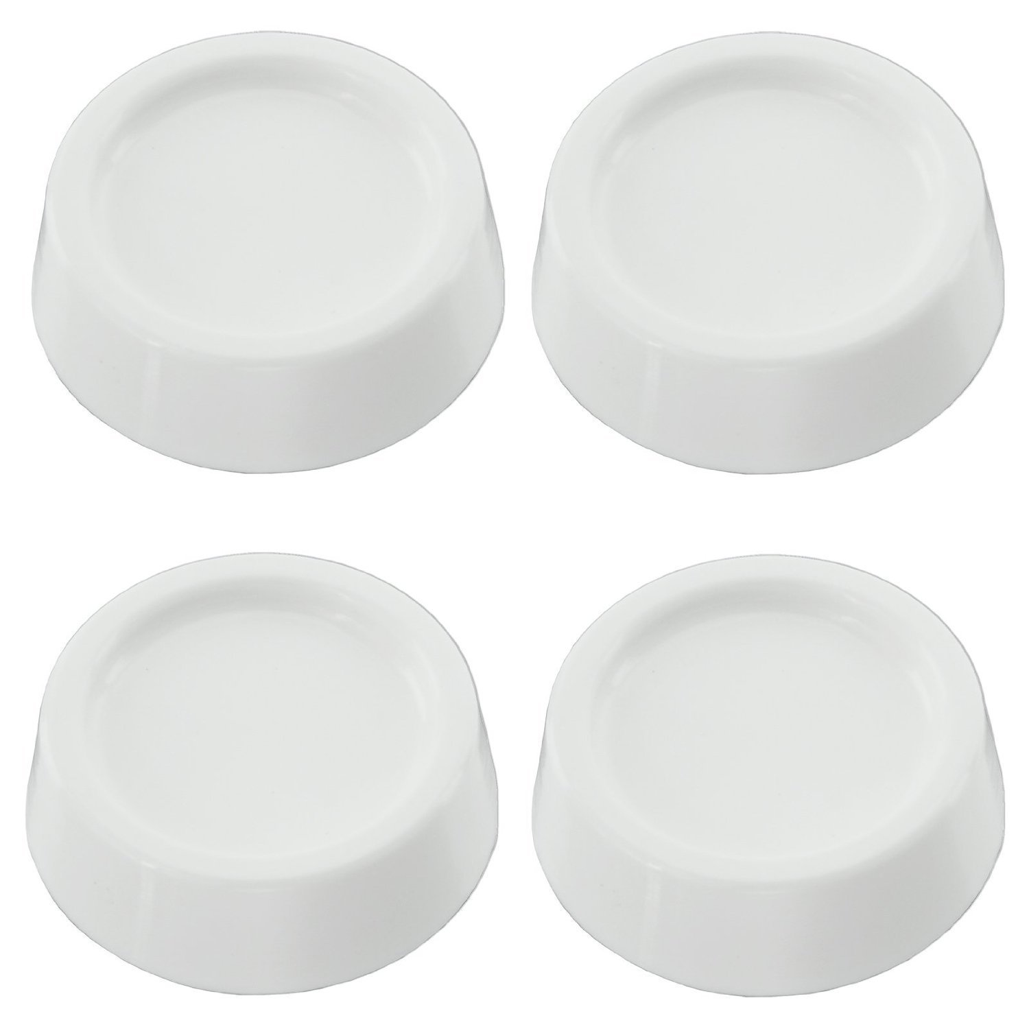 Pack of 4 SPARES2GO Anti Vibration Low Noise Rubber Feet Pads for MIELE Tumble Dryer//Washing Machine
