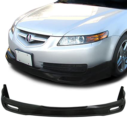 amazon com 04 06 acura tl type 1 poly urethane add on front bumper