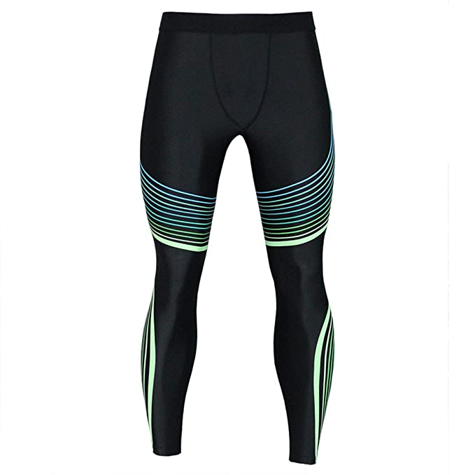 5632023b751511 Men's Sports Compression Tights Cool Dry Baselayer Leggings Pro Training Running  Pants for All Season