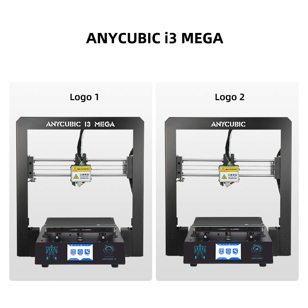 Anycubic i3 Mega 3D Printer Full Metal with Patented Heated Bed and 3 5  inch Touch Screen Large Print Size