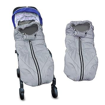 Berocia hiver universelle chanceliere cosy poussette gigoteuse bebe sac de couchage  enfant emmaillotage couverture 0d8a03d8ee8
