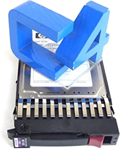 HP 507284-001 Proliant 300GB 10K 2.5in 6Gbps Dual Port in Tray SAS Hard Drive (Renewed)