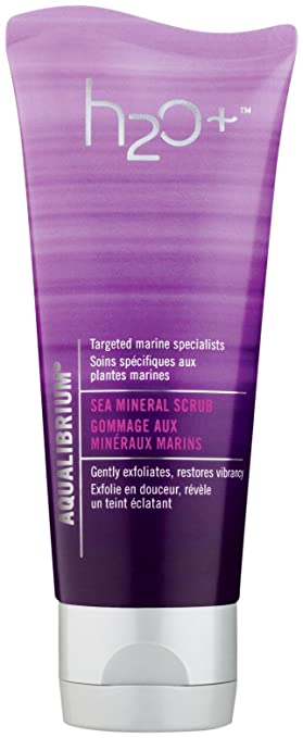Aqualibrium Sea Mineral Scrub H2O+ 2.5 oz Scrub Unisex Ren Micro Polish Cleanser, 5.1 Fluid Ounce