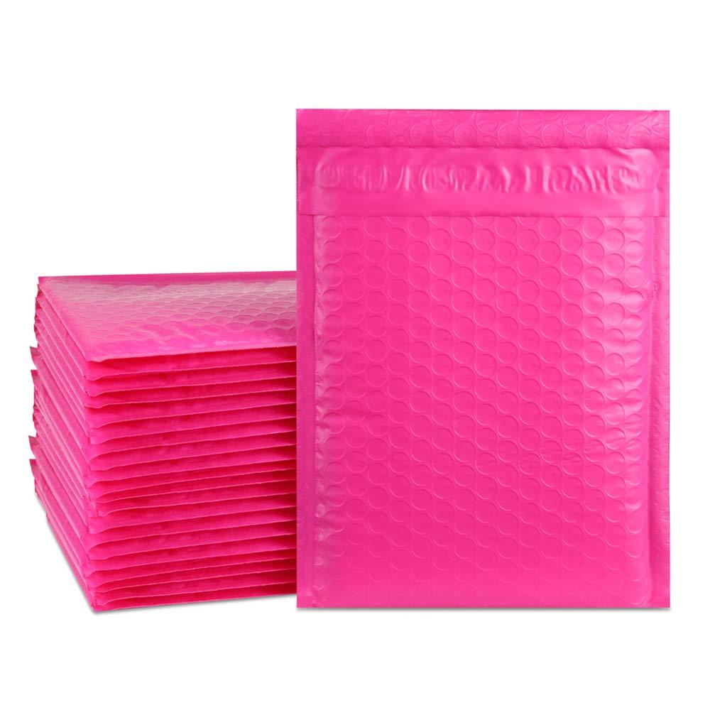 Sobres burbujas plastico rosa x 25 (15x25cm) UCGOU