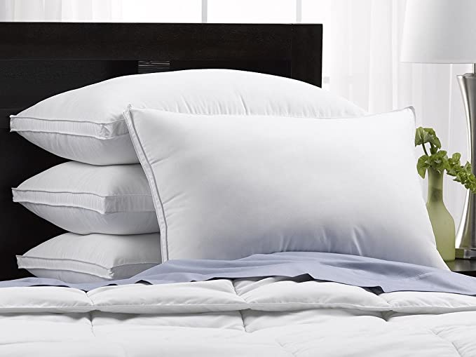 Exquisite Hotel Lujosas almohadas de plumón, firmes ...