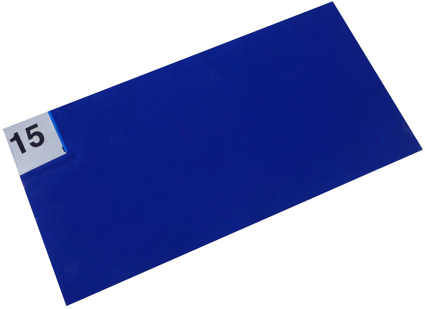 Blue Cleanroom Tacky Mats 18x45 (Blue, 18x45, 30/MAT 4/CS )