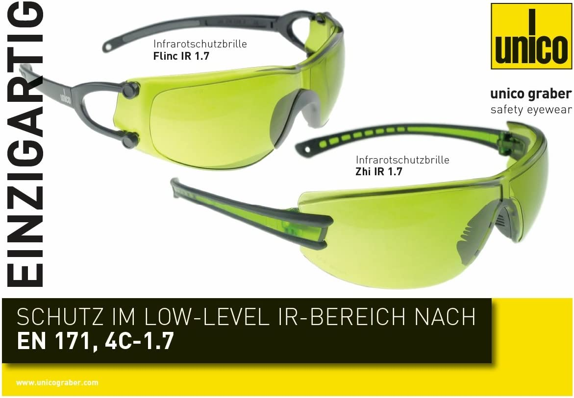 Zhi infrarouge IR 1.7/Lunettes de protection