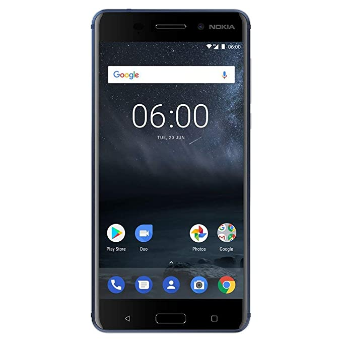 Nokia 6 - 32 GB - Dual Sim Unlocked Smartphone  (AT&T/T-Mobile/Metropcs/Cricket/Mint) - Update To Android 9 0 PIE - 5 FHD  Screen - Blue - US Warranty