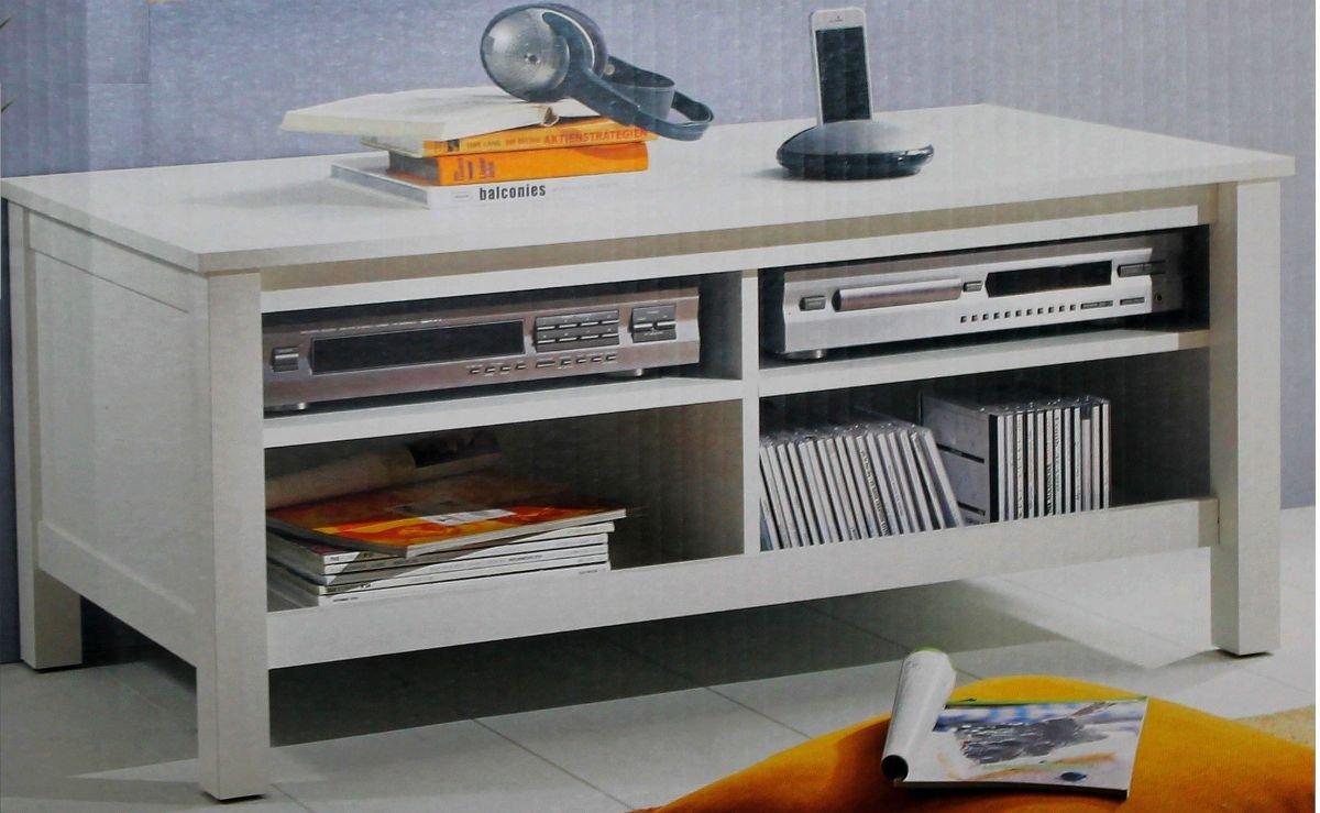 Lowboard TV Möbel Schrank HiFi Board Unterteil Kommode Tisch Rack Sideboard  Unterschrank Weiß: Amazon.de: Küche U0026 Haushalt