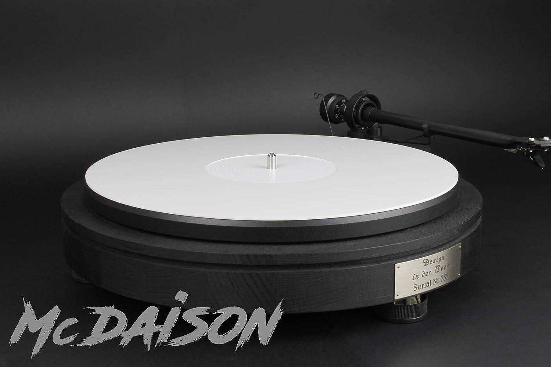 alfombrilla blanco de Perspex para tocadiscos - dm231: Amazon.es ...