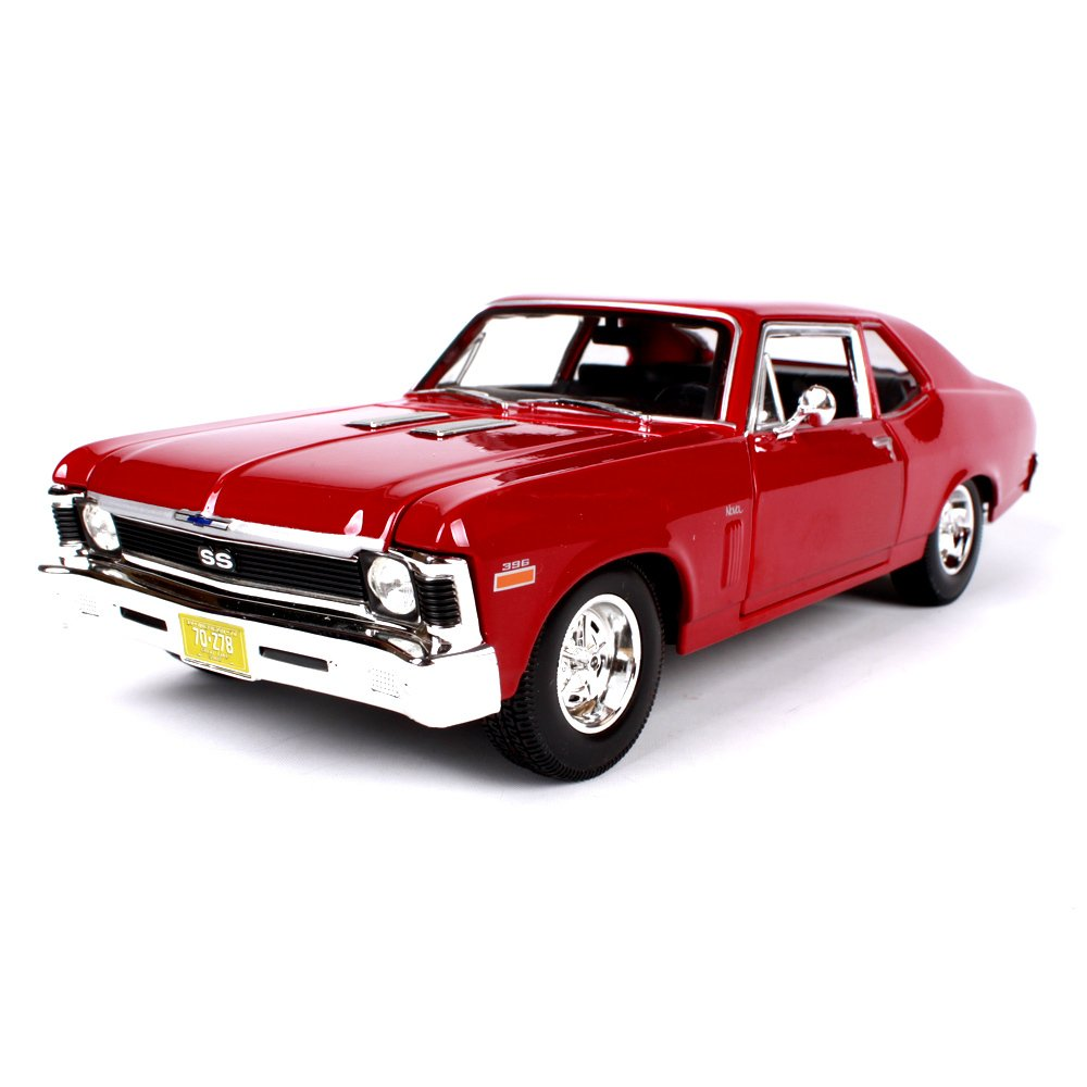 orden en línea Haixin 1970 Chevrolet Modelo de Coche de aleación de de de simulación de Coche clásico, decoración de Modelo de Coche clásico, relación: 1:18  Envío 100% gratuito