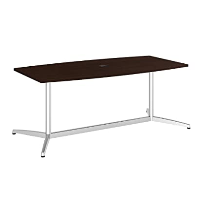 Amazoncom Bush Business Furniture X Boat Top Conference - 72 x 36 conference table