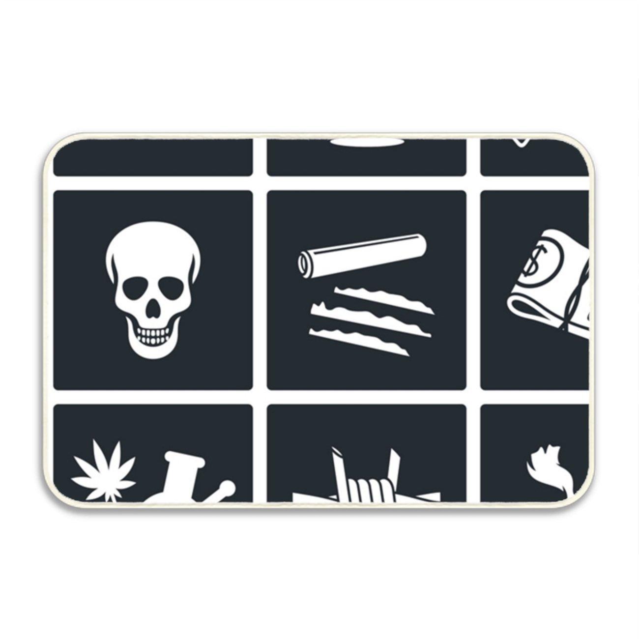 Amazon.com : PlayA Mexican Cartel And Arms Fancy Doormat ...